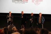 Thierry Frémaux, Jean-Pierre Jeunet, Marc Caro et Dominique Pinon