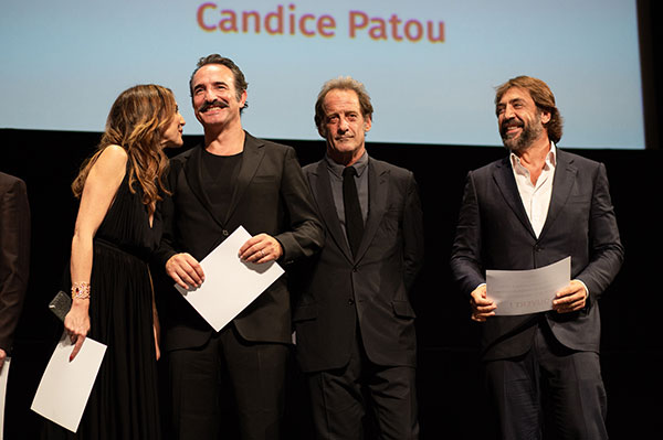Elsa Zylberstein, Jean Dujardin, Vincent Lindon & Javier Bardem