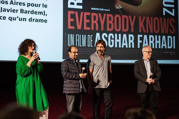 Javier Bardem & Asghar Farhadi