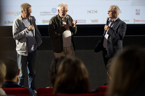 Christophe Lambert, Hugh Hudson & Thierry Frémaux