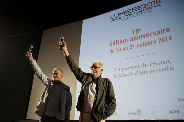 Christophe Lambert & Hugh Hudson