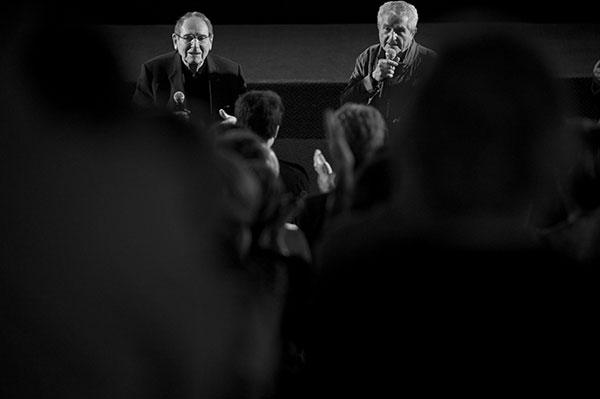 Robert Hossein & Claude Lelouch