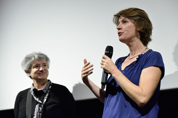 Nicole Fernandez Ferrer & Irène Jacob