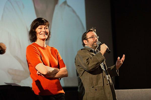 Marianne Denicourt & Vincent Maraval