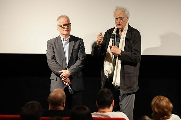 Thierry Frémaux & Bertrand Tavernier