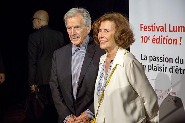 Costa-Gavras & Michèle Ray-Gavras