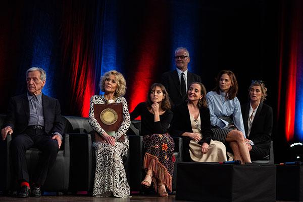 Costa-Gavras, Jane Fonda, Anaïs Demougeot, Dominique Blanc, Suzanne Clément, Anne Consigny