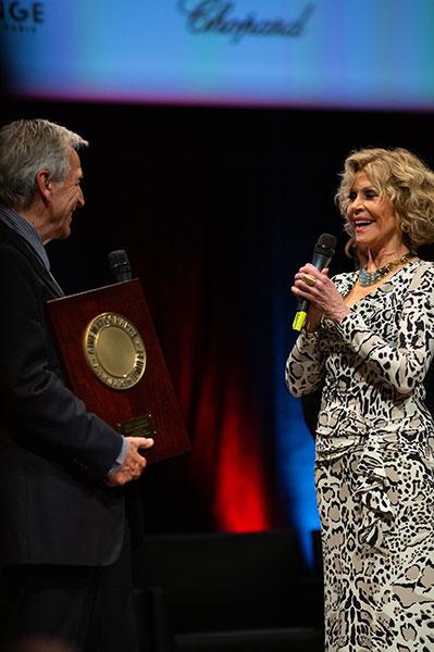 Costa-Gavras & Jane Fonda