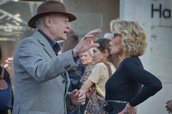 Pierre William Glenn & Jane Fonda
